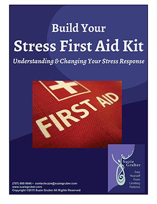 Get Your Free Stress First Aid Kit e-Book - suziegruber com